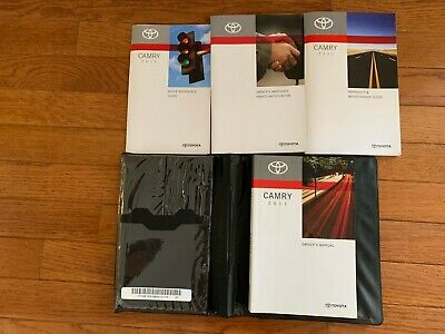 New Toyota Camry 2011 Owner's Manual Quick Reference Warranty Guide