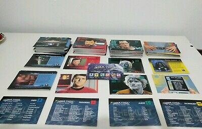 Massive skybox star trek Reflections of the Future trading card collection VGC