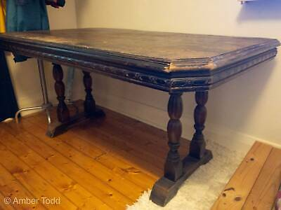 Rustic Antique Wooden Table