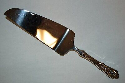 """Wallace Rose Point Sterling Silver Pie / Cake Server - 10 3/4"""" - No Mono"""