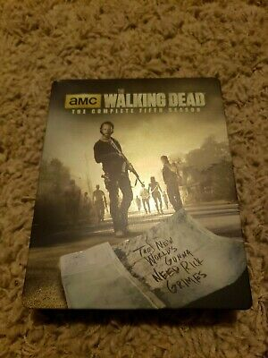 The Walking Dead: The Complete Fifth Season Blu-Ray  Limited Edition STEELBOOK