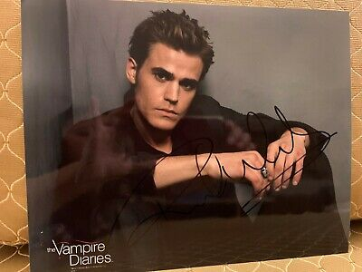"""Paul Wesley """"The Vampire Diaries"""" AUTOGRAPH Signed 8x10 Photo"""