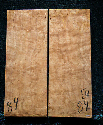 """Eucalyptus Burl #89 Knife Scales 5""""x2""""x3/8"""" see100 species in my store"""