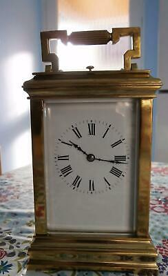 Repeater Carrige Clock in Good Working Order