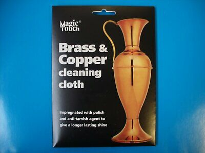 Magic Touch Brass & Copper Cleaning Cloth For Longer Lasting Shine