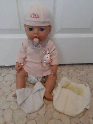 Zapf Creations Baby Annabell hard bodied baby doll