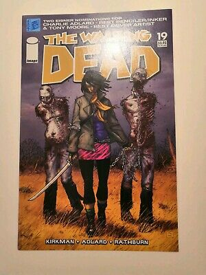 The Walking Dead #19 comic, 1st appearance, Michonne, 1st print, great condition
