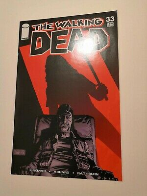 The Walking Dead #33 comic, Michonne vs Governor, 1st print, great condition
