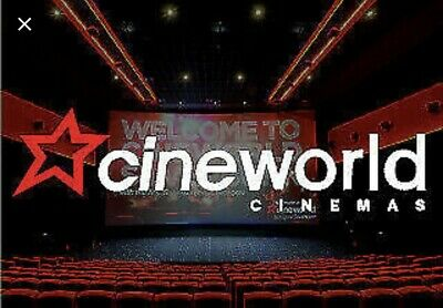 2 Adult Sweet Sunday Cinema Tickets Cineworld ONLY VALID Sunday's Till 25/8/19
