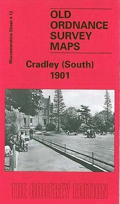Old Ordnance Survey Map Cradley South 1901