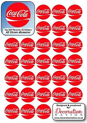 Coca Cola Logo STICKERS Decoration Fun Kids Adults Fizzy Drink Coke