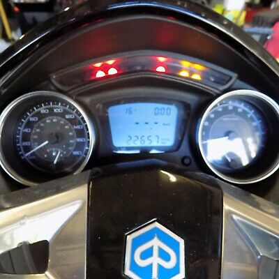 2014 Piaggio X10 350cc instrument cluster. Perfect tested condition 22600klms.