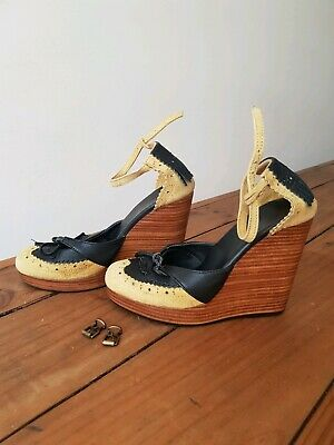 Alice McCall vintage wedges size 36. Buckles need replacing.