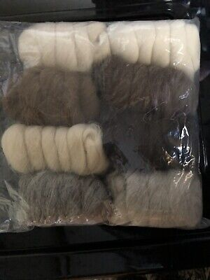 Breed Discovery Pack Various Sliver - 225gm Spinning Felting