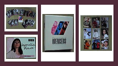 Women of Avengers Trading Cards Binder. Jacqueline Pearce Autograph Base & Chase