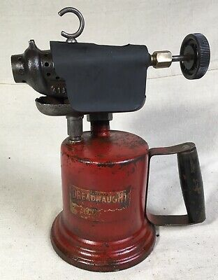 "Vintage Blow Torch. Wall 3341. ""Dreadnaught"". Great Condition, Clean And Nice!"
