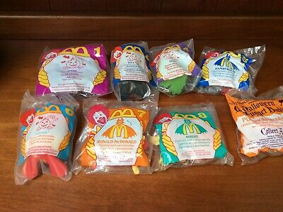 1995/1996 McDonald's Halloween McNuggets Happy Meal Toy NIP Your Choice