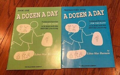 A Dozen a Day Play with Ease in Many Keys NEW 000416395