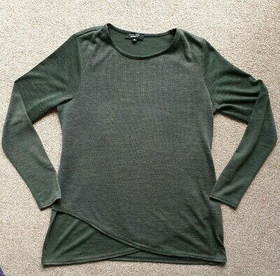 New Look Maternity Wrapover Jumper Size 12