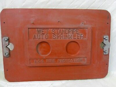 Wood Foundry Pattern Fire Dept Wet Standpipe Auto Sprinkler Steampunk Industrial
