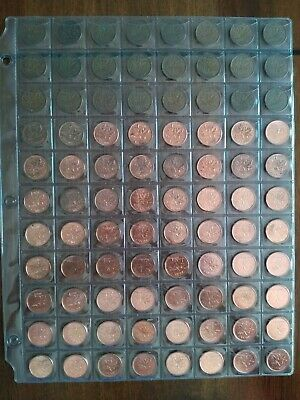 Collection of 88 Penny, Date Complete From 1937-2012, No Reserve! (Lot #26)