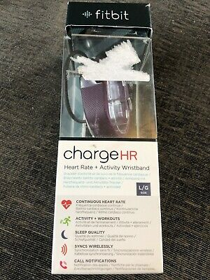 Fitbit Charge HR Large Purple Heart Rate & Activity Wristband