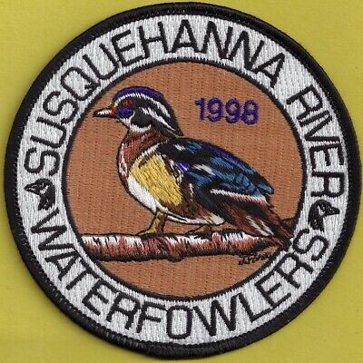 """Pa Pennsylvania Fish Game Commission NAWEOA NEW 4/"""" 2012 COPA Kingfisher Patch"""
