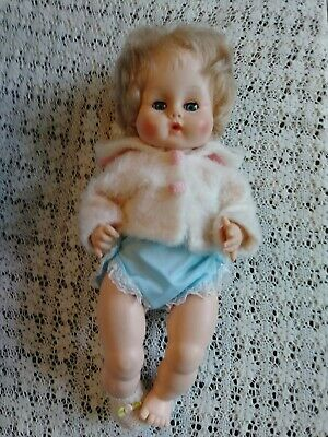 Vintage Vogue Ginny Baby Doll 1960s with Bunting