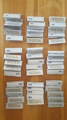 45 Genuine RIZLA SILVER Original Cigarette Rolling Papers Regular Rolling Paper