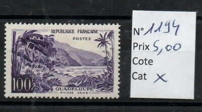 Lot 018 : Timbres France neufs* 1194  cote 21€00 a prix Discount