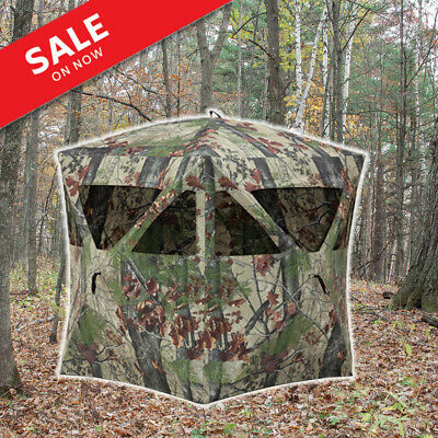 Deer Stand Hunting Blind Camo Invisible Hidden Tent Collapsible Portable Setup