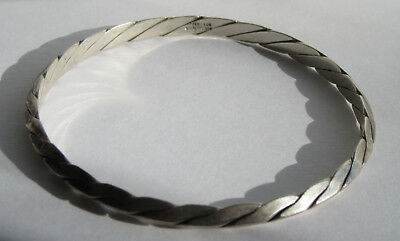 Vintage Tiffany & Co Bangle  Sterling Silver Bracelet