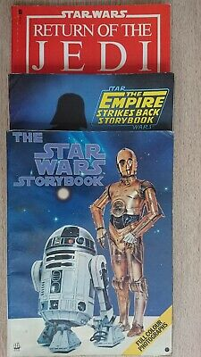 Star Wars, The Empire Strikes Back & Return Of The Jedi Storybooks - Trilogy