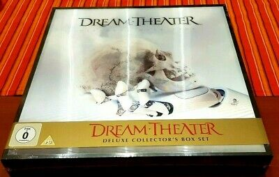 Dream Theater Distance Over Time Deluxe Box White Vinyl Numbered Sealed J2