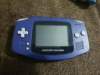 Nintendo Game Boy Advance Purple Handheld System