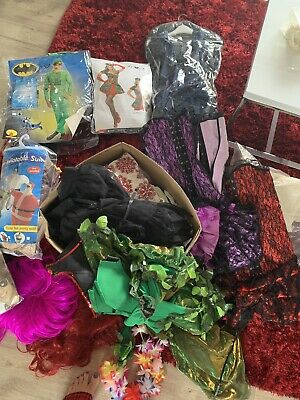 used adult fancy dress costume Bundle Various
