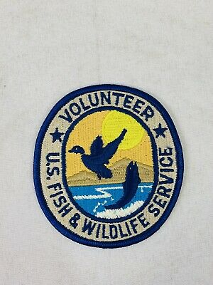 U.S FISH /& WILDLIFE SERVICE DEPARTMENT OF THE INTERIOR SHOULDER PATCH
