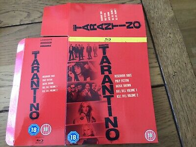 Blue Ray Slip Cover Without Disc---Quentin Tarantino---Like New.free Post