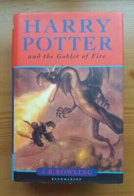 JK Rowling Harry Potter & the Goblet of Fire 1st/1st UK Bloomsbury NF in DJ