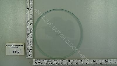 "Original Bevelled Flat Barometer Glass Ø 3 7/8"" Or 9,9 Cm"