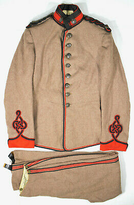 1883 dated Northamptonshire Regiment 2nd Lieutenant's Jacket & Trousers- WW1 DSO