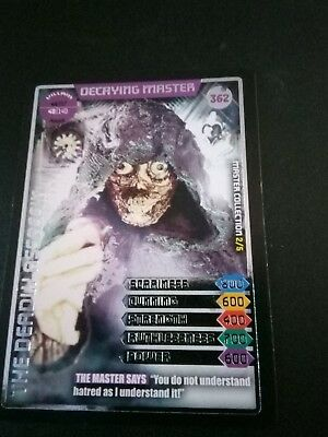 Doctor Who Monster Invasion Ultimate Card Decane Master 362