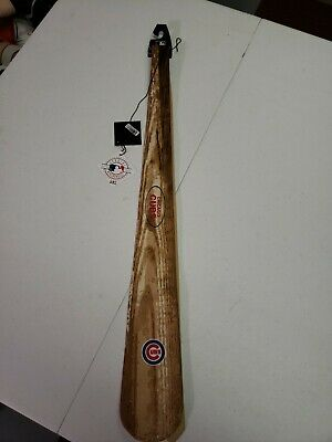 """MLB MEN 56 INCH CHICAGO CUBS BASEBALL """"BAT TIE"""" Necktie NEW With Tags"""