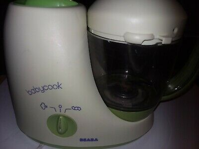 Baby, Beaba, Baby Cook, White/Green, Excellent Condition