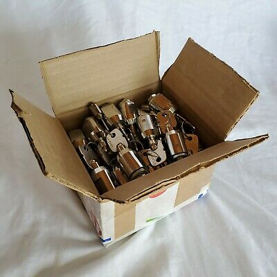 40 Used Storage Unit Locker Cylinder Locks with Two  Keys For Each Baton Brand