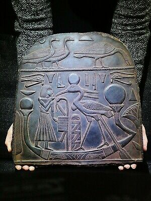 EGYPTIAN ANTIQUE ANTIQUITY Deity Benu Bennu Bird Stela Stele 1075-727 BC