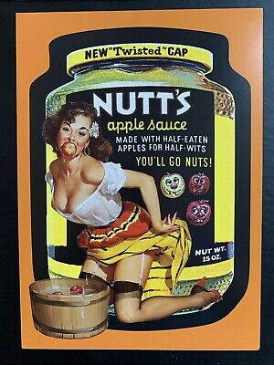 NEW Wacky Packages VARIATIONS 7th SERIES UNCUT Puzzle Set NUTTS Pulp PINUP
