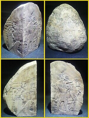 EGYPTIAN ANTIQUE ANTIQUITIES Corner Stone Stela Stele Stelae 1549-1354 BC
