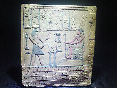 EGYPTIAN ANTIQUE ANTIQUITIES Limestone Stela Stele Stelae 1549-1365 BC