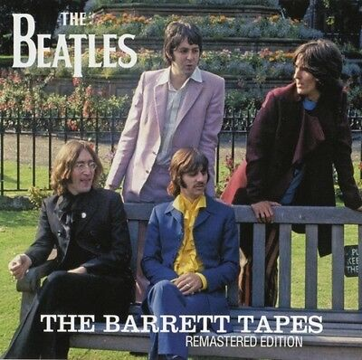 THE BEATLES THE BARRETT TAPES  -Remastered Edition-Press 2CD *F/S